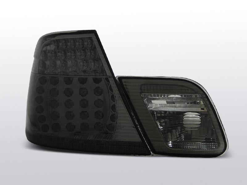 BMW E46 LEd-es Füstös Hátsó lámpa COUPE 04.99-03.03