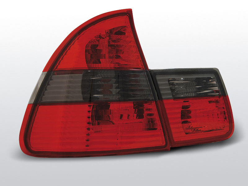 BMW E46 99-05 TOURING Piros Sötétített hátsó lámpa