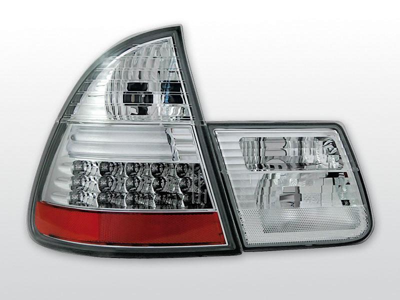 BMW E46 99-05 Króm LED -es hátsó lámpa