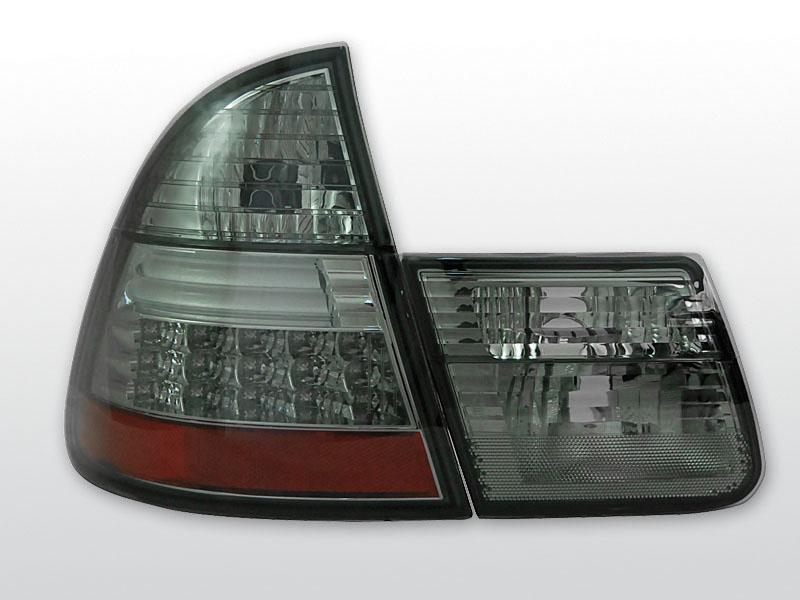 BMW E46 99-05 Sötétített LED -es hátsó lámpa