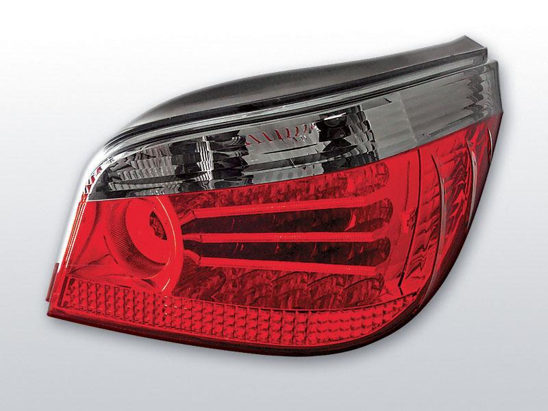 BMW E60 03-07  Piros Sötétített LED -es hátsó lámpa