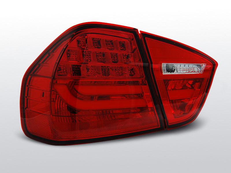 BMW E90 03.05-08.08 Piros LED-BAR Hátsó lámpa