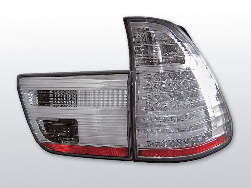 BMW X5 E53 09.99-06 Króm LED -es hátsó lámpa