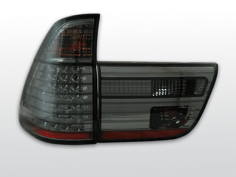 BMW X5 E53 09.99-06 Sötétített LED -es hátsó lámpa