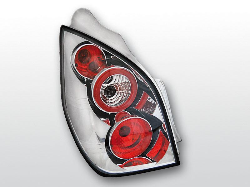 CITROEN C2 11.03-10 Króm hátsó lámpa