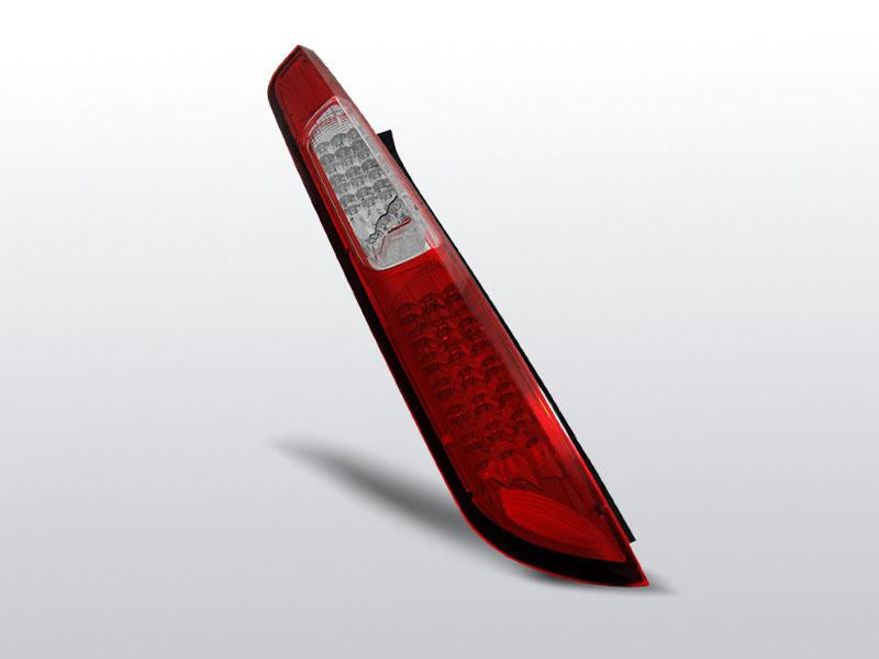 FORD FOCUS MK2 08-10 Piros-Fehér LED-es Hátsó lámpa