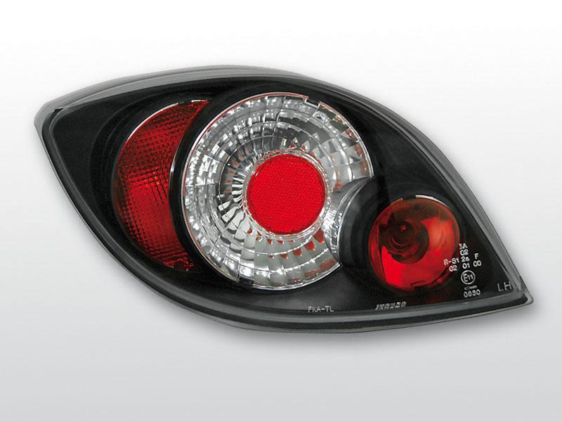 FORD KA 11.96-08 Fekete hátsó lámpa