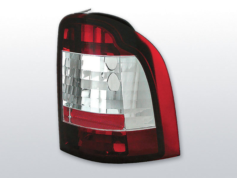 FORD MONDEO 01.93-08.00 KOMBI Piros Fehér hátsó lámpa