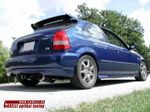 Honda Civic 1996-2000 3 ajtós hátsó toldat