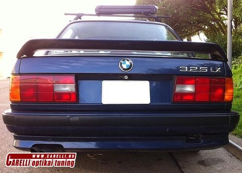 BMW E30 hátsó toldat