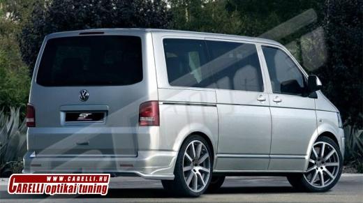 VW Transporter T5 hátsó toldat