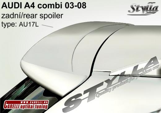 Audi A4 kombi tetõ spoiler