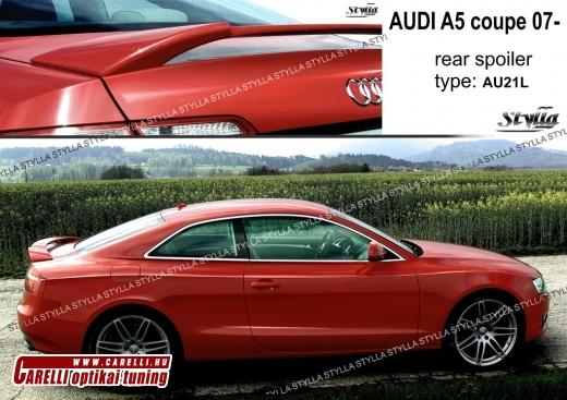 Audi A5 coupe spoiler