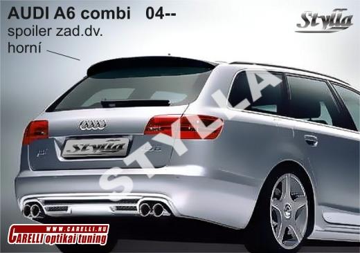 Audi A6 kombi 04- spoiler
