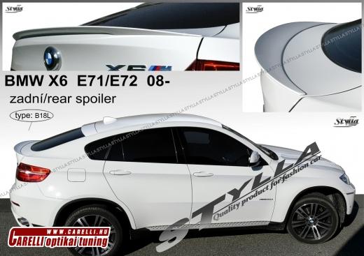 BMW X6 csomagtartó spoiler