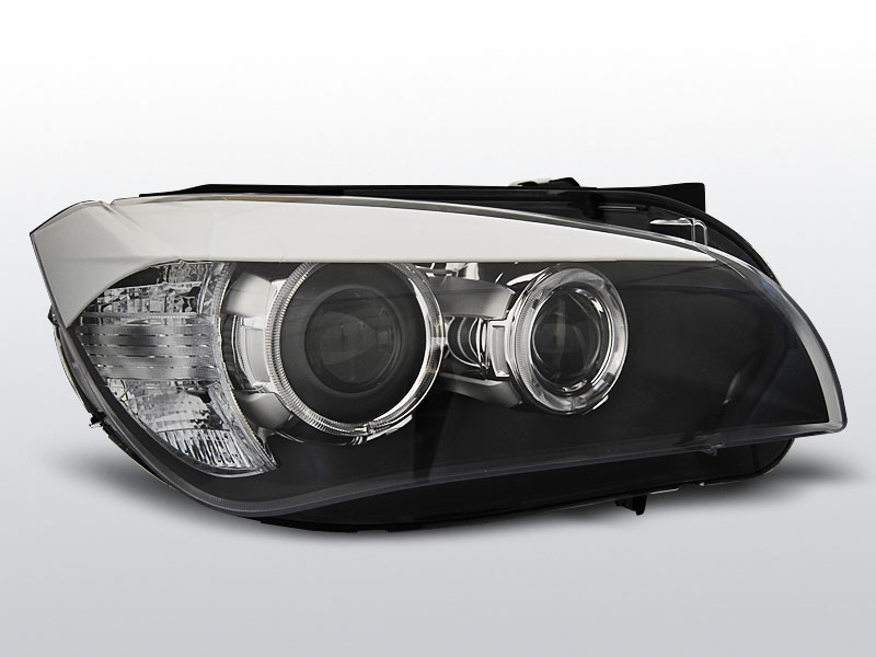 BMW X1 E84 2009.10-2012.07 Fekete AE LED Elsõ Lámpa