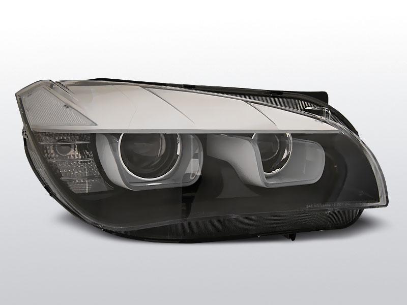 BMW X1 E84 2012.08-2014.01 Fekete TUBE LIGHTS Xenon Elsõ Lámpa