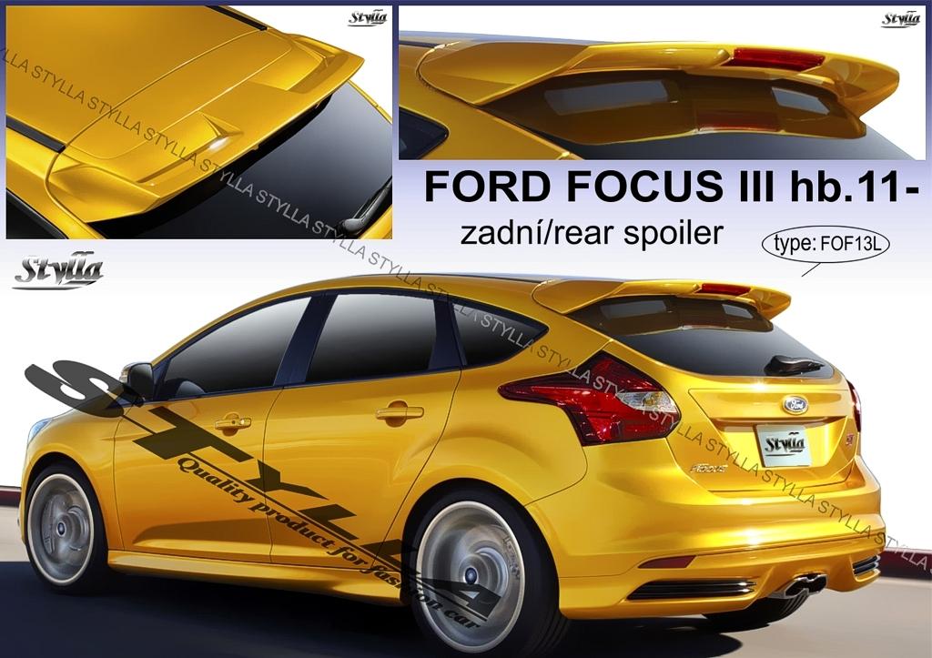 Focus  MK3 hátsó szárny