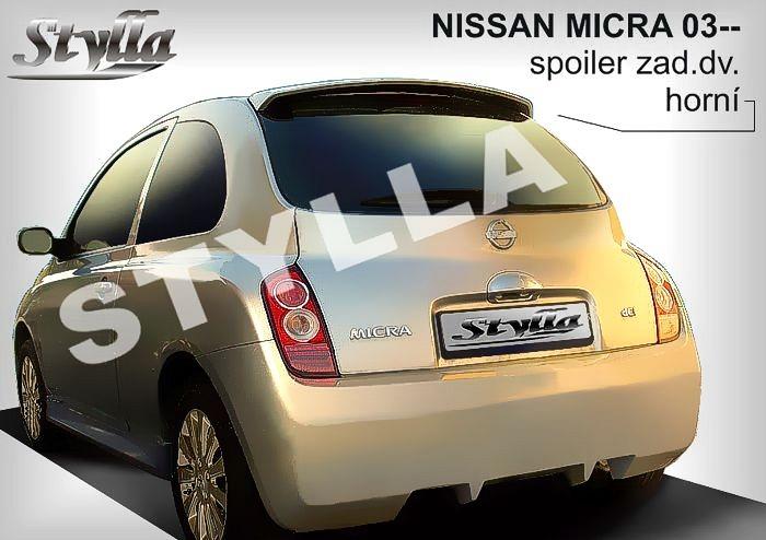 Nissan Micra K12 szárny