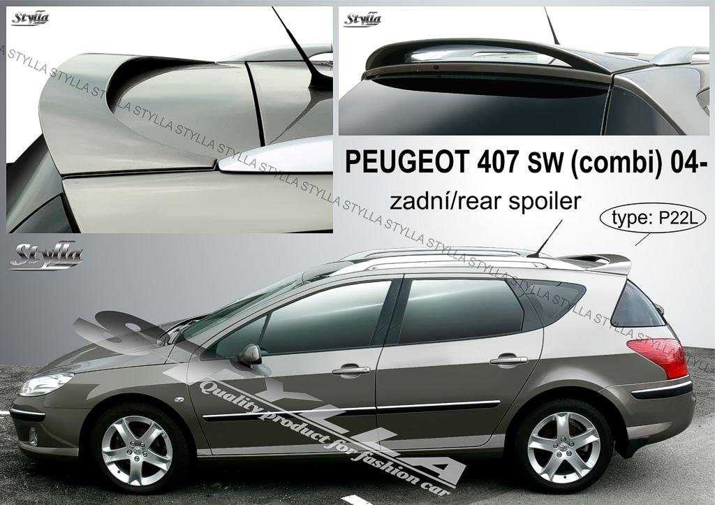 Peugeot 407 szárny kombi