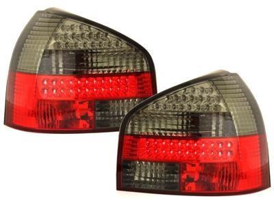 AUDI A3 Piros-Füstös Ledes Hátsó lámpa 08.96-08.00