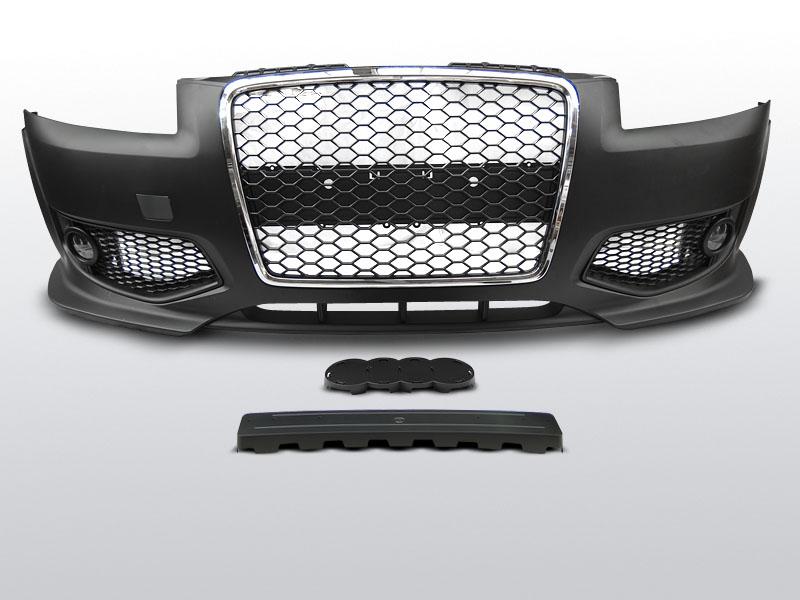 Audi A3 8P Elsõ Lökhárító RS STYLE Fekete-Króm 06.05-04.08