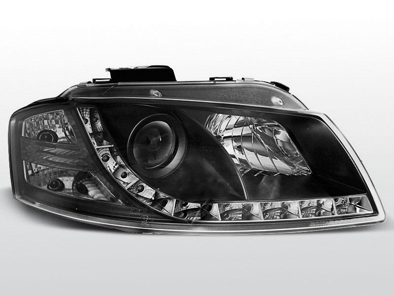 AUDI A3 8P 2003.05-2008.03 Daylight Fekete Elsõ lámpa