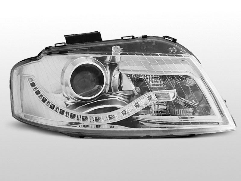 AUDI A3 8P 05.03-03.08 DAYLIGHT Króm elsõ lámpa