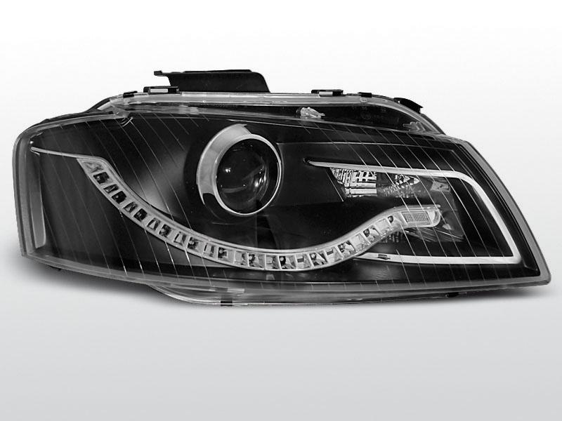 AUDI A3 8P 05.03-03.08 DAYLIGHT Fekete elsõ lámpa