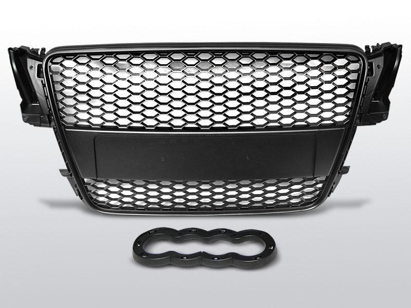 Audi A5 07-06.11 Fekete jelnélküli rács