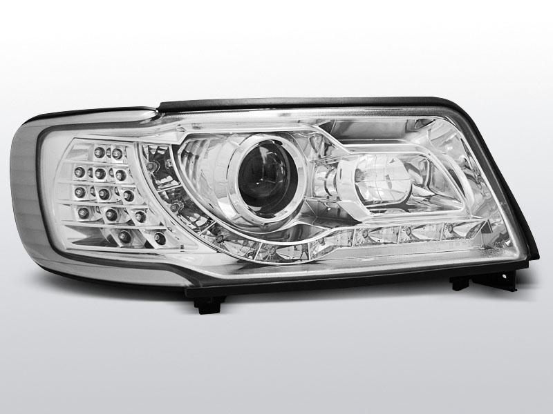 AUDI 100 C4 1990.12-1994.06 Daylight Króm Elsõ lámpa