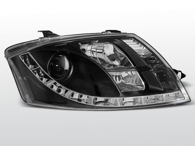 AUDI TT 8N 1999-2005 Fekete Daylight Elsõ Lámpa