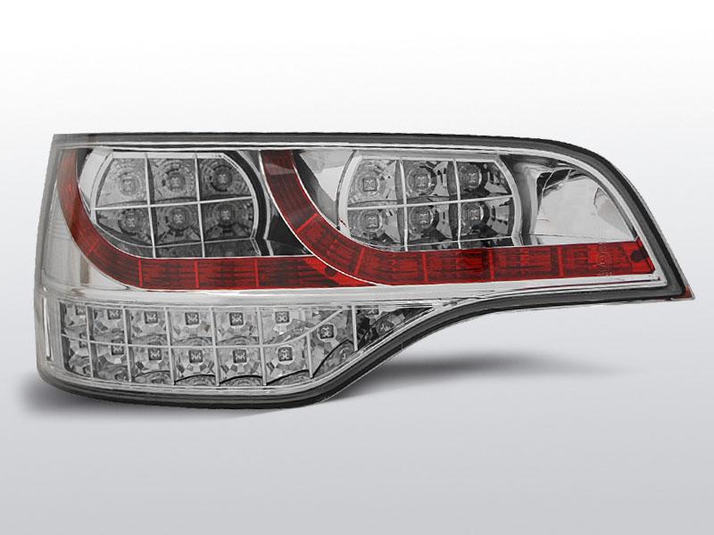 AUDI Q7 06-09 Króm LED -es hátsó lámpa