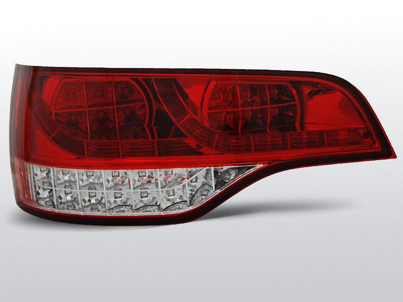 AUDI Q7 06-09 Piros Fehér LED -es hátsó lámpa