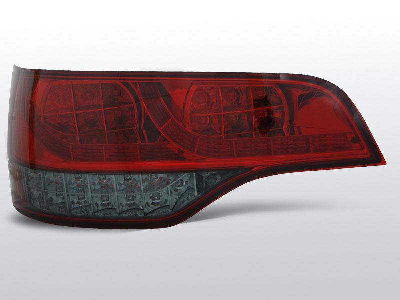 AUDI Q7 06-09 Piros Sötétített LED -es hátsó lámpa