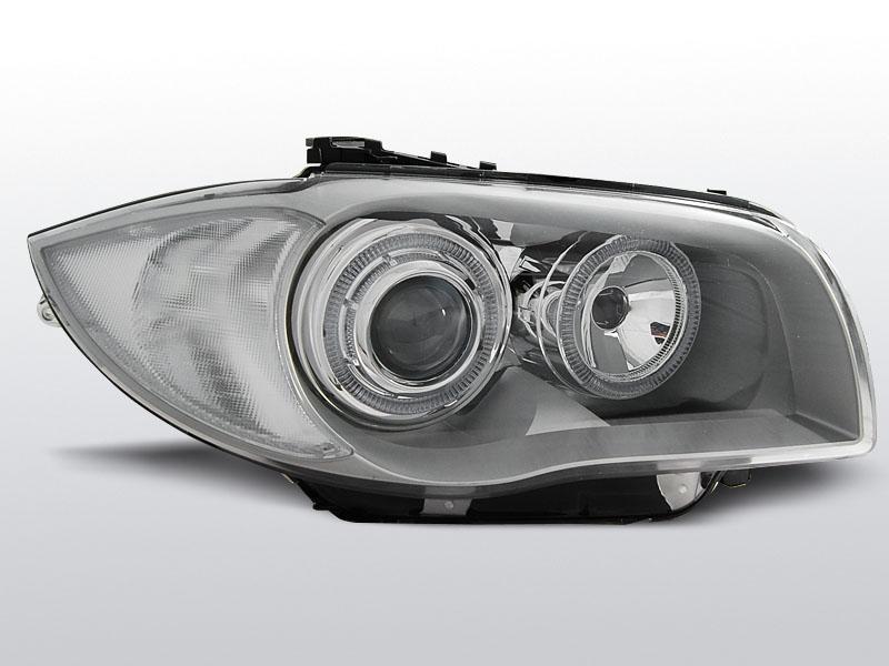 BMW E87/E81/E82/E88 2004-2011 Króm Elsõ Lámpa