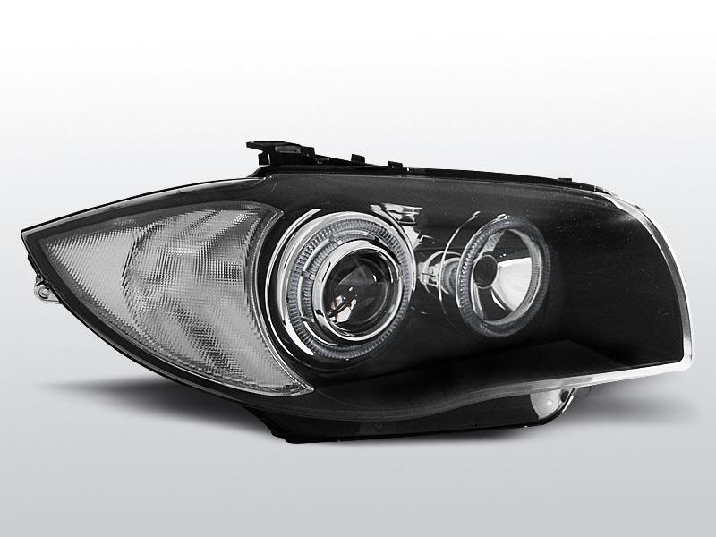 BMW E87/E81/E82/E88 2004-2011 Fekete Elsõ Lámpa
