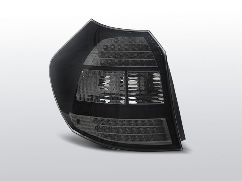 BMW E87/E81 04-08.07 Led-es fekete hátsó lámpa