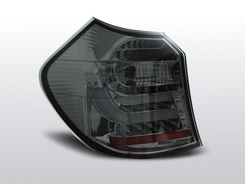 BMW E87/E81 04-08.07 Füstös Led hátsó lámpa