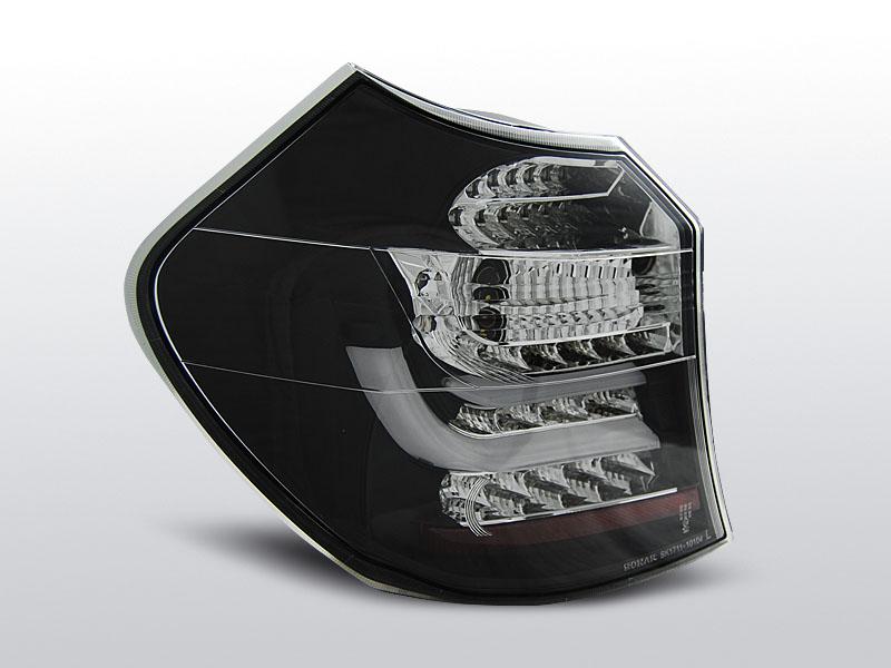BMW E87 / E81 09.07-11 Fekete LED-BAR Hátsó lámpa