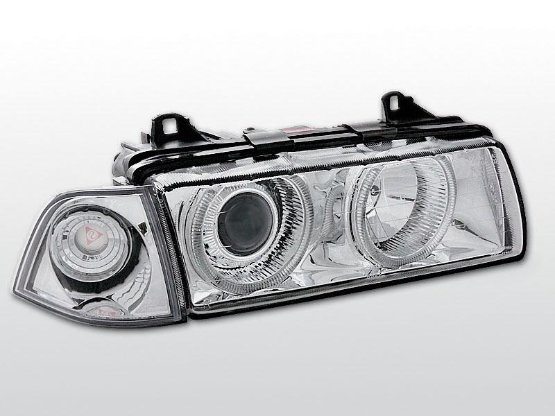 BMW E36  Króm ANGEL EYES Elsõ Lámpa