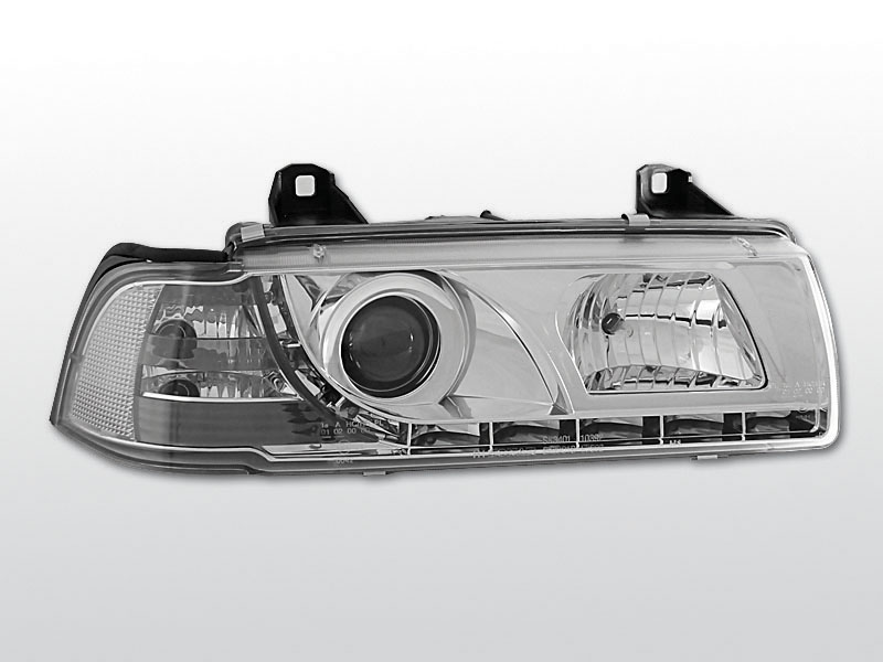 BMW E36  Króm Daylight Elsõ Lámpa