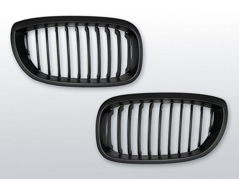 BMW E46 09.01-03.03 COUPE Fekete jelnélküli rács