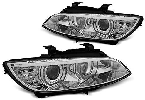 BMW E92/E93 2006-2010 Króm ANGEL EYES LED AFS HID Elsõ Lámpa