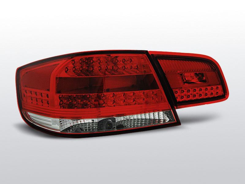 BMW E92/ E93 09.06-03.10 Piros-Fehér LED-BAr Hátsó lámpa