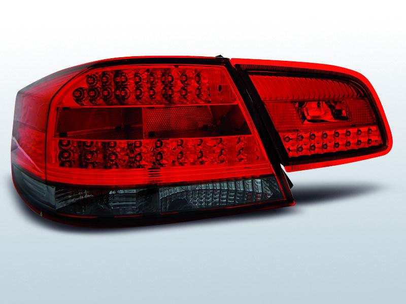 BMW E92 / E93 09.06-03.10 Piros-Füst LED-BAR Hátsó lámpa