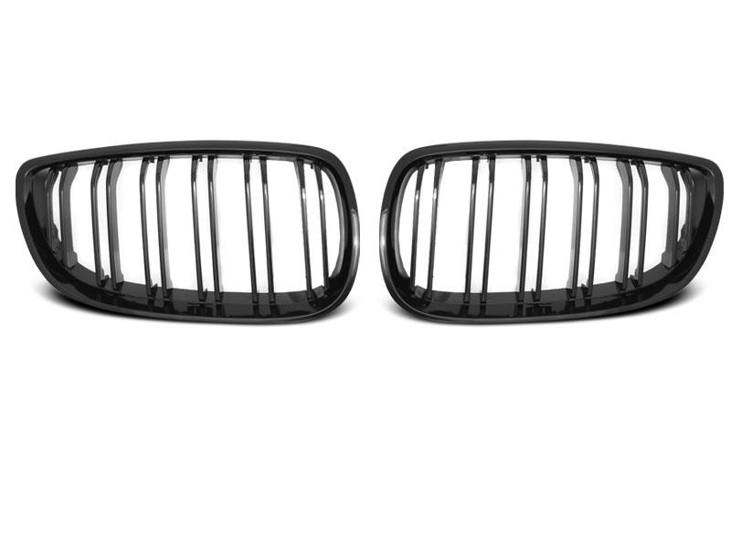 BMW E92 / E93 07-10 C / C Fényes Fekete Dupla Ráccsal