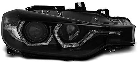 BMW F30/F31 2011.10-2015.05 Fekete ANGEL EYES LED DRL Elsõ Lámpa