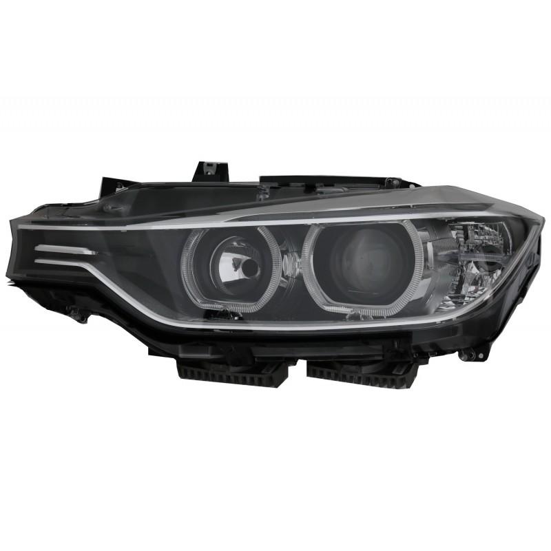 BMW F30/F31 2011.10-2015.05 Fekete ANGEL EYES LED Elsõ Lámpa