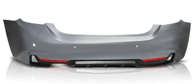 BMW F32/F33 10.13- M-PERFORMANCE STYLE PDC Hátsó lökhárító